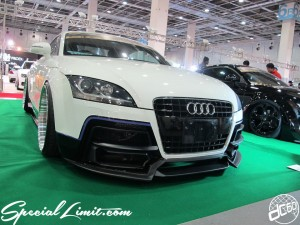 Osaka Auto Messe 2014 Car & Customize Motor Show Intex Custom GECKO Audi TT Coupe Garage ILL Body Kit