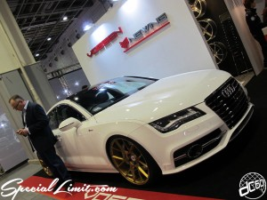 Osaka Auto Messe 2014 Car & Customize Motor Show Intex Custom VOSSEN NEWING Audi FORGED Wheel