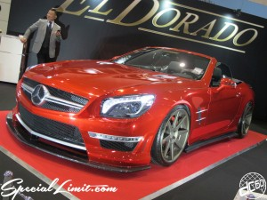 Osaka Auto Messe 2014 Car & Customize Motor Show Intex Custom EL DORADO Mercedes Benz CL Slammed Body Kit