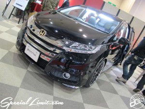 Osaka Auto Messe 2014 Car & Customize Motor Show Intex Custom Spycy Tune HONDA New Odyssey