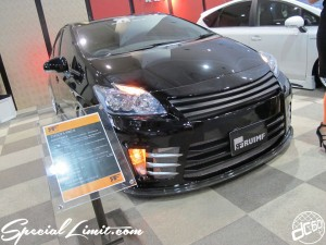 Osaka Auto Messe 2014 Car & Customize Motor Show Intex Custom TOYOTA PRIUS RUIMF Body Kit Slammed