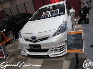 Osaka Auto Messe 2014 Car & Customize Motor Show Intex Custom TOYOTA PRIUSα RUIMF