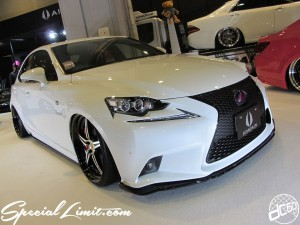 Osaka Auto Messe 2014 Car & Customize Motor Show Intex Custom AIMGAIN Body Kit Slammed LEXUS IS F Package