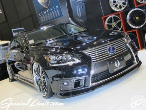 Osaka Auto Messe 2014 Car & Customize Motor Show Intex Custom AIMGAIN Body Kit Slammed LEXUS LS