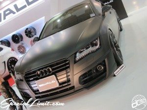 Osaka Auto Messe 2014 Car & Customize Motor Show Intex Custom Black Bison WALD INTERNATIONAL Audi Body Kit