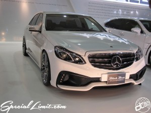 Osaka Auto Messe 2014 Car & Customize Motor Show Intex Custom Black Bison WALD INTERNATIONAL Mercedes Benz Body Kit