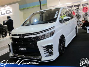 Osaka Auto Messe 2014 Car & Customize Motor Show Intex Custom RAYS TOYOTA New VOXY SIXTH SENSE