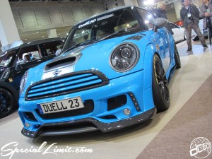 Osaka Auto Messe 2014 Car & Customize Motor Show Intex Custom DUELL AG BMW MINI Cooper S