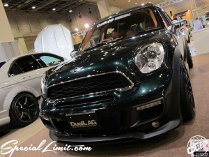 Osaka Auto Messe 2014 Car & Customize Motor Show Intex Custom BMW MINI CROSSOVER DuelL AG