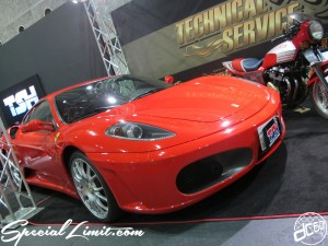 Osaka Auto Messe 2014 Car & Customize Motor Show Intex Custom TSH Ferrari 430