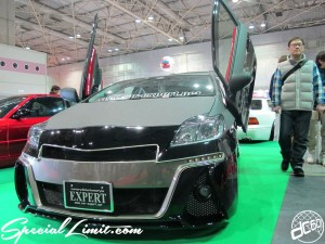 Osaka Auto Messe 2014 Car & Customize Motor Show Intex Custom EXPERT PRIUS Gull Wing