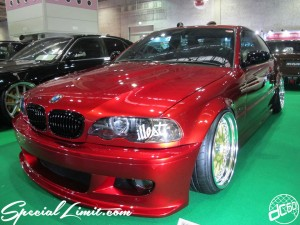 Osaka Auto Messe 2014 Car & Customize Motor Show Intex Custom BMW E46 Coupe Slammed illest