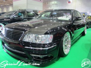 Osaka Auto Messe 2014 Car & Customize Motor Show Intex Custom Y33 CIMA NISSAN Slammed VIP