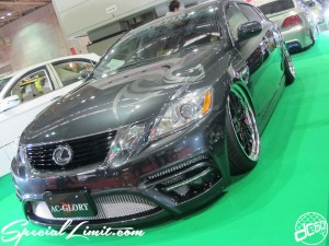 Osaka Auto Messe 2014 Car & Customize Motor Show Intex Custom AC-GLORY LEXUS GS Body Kit Slammed