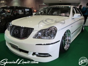 Osaka Auto Messe 2014 Car & Customize Motor Show Intex Custom AC-GLORY CROWN Majesta Slammed VIP