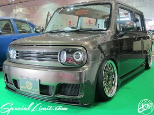 Osaka Auto Messe 2014 Car & Customize Motor Show Intex Custom FIFTY AUTO SUZUKI Lapin Slammed