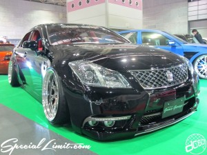 Osaka Auto Messe 2014 Car & Customize Motor Show Intex Custom Goma-Garage CROWN Slammed Stance VIP