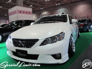 Osaka Auto Messe 2014 Car & Customize Motor Show Intex Custom T DEMAND TOYOTA Mark-X Slammed Camber
