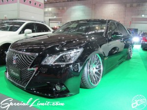 Osaka Auto Messe 2014 Car & Customize Motor Show Intex Custom T DEMAND CROWN Athlete Slammed
