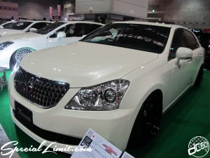 Osaka Auto Messe 2014 Car & Customize Motor Show Intex Custom T DEMAND CROWN MAJESTA