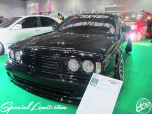 Osaka Auto Messe 2014 Car & Customize Motor Show Intex Custom 1st-CLASS Y32 NISSAN Slammed