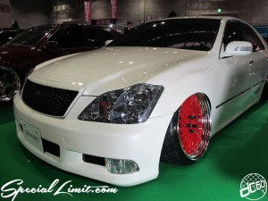 Osaka Auto Messe 2014 Car & Customize Motor Show Intex Custom Slammed CROWN VIP