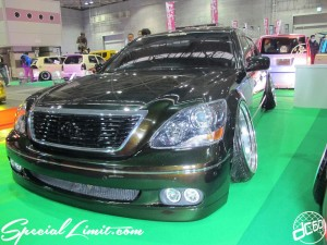 Osaka Auto Messe 2014 Car & Customize Motor Show Intex Custom TOYOTA CELSIOR Slammed VIP