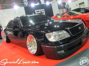 Osaka Auto Messe 2014 Car & Customize Motor Show Intex Custom VIP MODULAR CERSIOR Slammed FORGED Wheel
