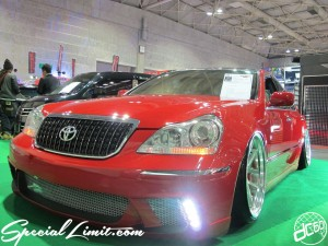 Osaka Auto Messe 2014 Car & Customize Motor Show Intex Custom Slammed TOYOTA CROWN MAJESTA