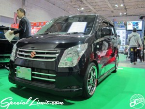 Osaka Auto Messe 2014 Car & Customize Motor Show Intex Custom SUZUKI Wagon R