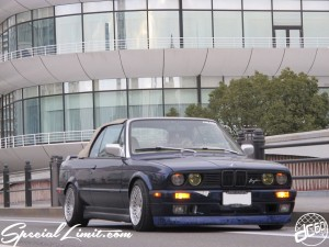 Nostalgic 2days Pacifico YOKOHAMA Oldschool Classic Car Neoclassic Trade Show 2014 Breyton BMW E30 Cabrio Stance Wheel Open Body Kit