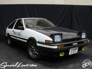 Nostalgic 2days Pacifico YOKOHAMA Oldschool Classic Car Neoclassic Trade Show 2014 VINTAGE INITIAL D TOYOTA AE86 TRUENO