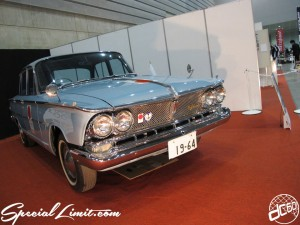 Nostalgic 2days Pacifico YOKOHAMA Oldschool Classic Car Neoclassic Trade Show 2014 VINTAGE NISSAN PRINCE OLIMPIC