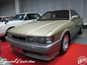 Nostalgic 2days Pacifico YOKOHAMA Oldschool Classic Car Neoclassic Trade Show 2014 VINTAGE NISSAN LEOPARD BBS