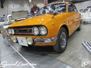 Nostalgic 2days Pacifico YOKOHAMA Oldschool Classic Car Neoclassic Trade Show 2014 VINTAGE ISUZU Sports Bellet GT-R