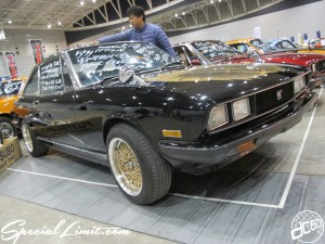 Nostalgic 2days Pacifico YOKOHAMA Oldschool Classic Car Neoclassic Trade Show 2014 VINTAGE ISUZU Sports 117 Coupe