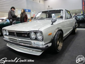 Nostalgic 2days Pacifico YOKOHAMA Oldschool Classic Car Neoclassic Trade Show 2014 VINTAGE NISSAN Skyline GT-R KPGC10 Tea Valley