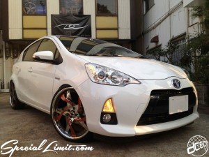 "dc601 FORGIATO JAPAN CERTIFIED DEALER Trophy DC-601,Inc. C.E.O Norman Designer Pablo FORGED Wheel TOYOTA AQUA PRIUS-C Hybrid FORGIATO MISTO 20"" RS☆R Adjustable Coil-Over"