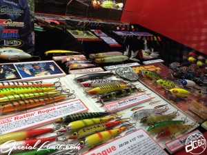 Fishing Show Osaka 2014 Lure Hard Soft Bait Reel Tackle New Products Presentations JACKALL MEGABASS SHIMANO DAIWA MERCURY PROX Large Mouth Florida Black Bass Intex Vagabond Geecrack Rapala