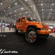 NEXT Auto Show FORGIATO FORGED Wheels Slammed Custom Jeep Wrangler Unlimited