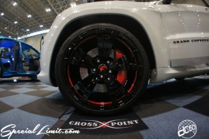 NEXT Auto Show FORGIATO FORGED Wheels Slammed Custom Jeep Grand Cherokee