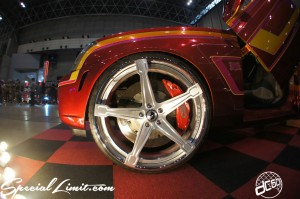 NEXT Auto Show FORGIATO FORGED Wheels Slammed Custom CADILLAC