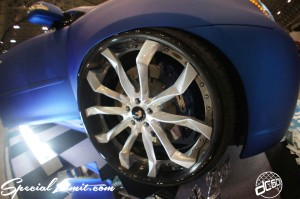 NEXT Auto Show FORGIATO FORGED Wheels Slammed Custom J-LUG Cover Car TOYOTA HARRIR LEXUS RX Audio Interior