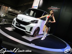 Osaka Auto Messe 2014 Car & Customize Motor Show Intex Campaign Girl Custom Show SUZUKI
