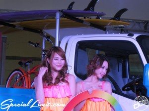 Osaka Auto Messe 2014 Car & Customize Motor Show Intex Campaign Girl Custom Show HINO