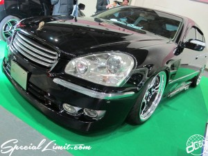 Osaka Auto Messe 2014 Car & Customize Motor Show Intex Custom NISSAN CIMA VIP