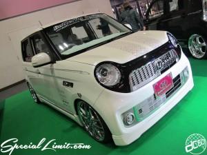 Osaka Auto Messe 2014 Car & Customize Motor Show Intex Custom K-CAR HONDA N-ONE Butterfly System