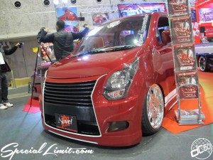 Osaka Auto Messe 2014 Car & Customize Motor Show Intex Custom K-CAR Truck Novel WAGON R Body Kit