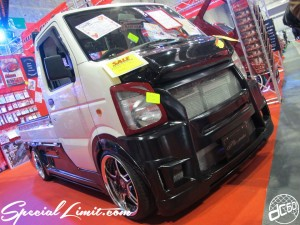 Osaka Auto Messe 2014 Car & Customize Motor Show Intex Custom K-CAR Truck SUZUKI CARRY Body Kit