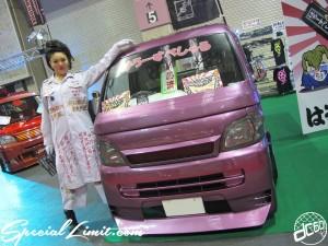 Osaka Auto Messe 2014 Car & Customize Motor Show Intex Custom K-CAR Truck HELLO SPECIAL DAIHATSU HIJET Lady's
